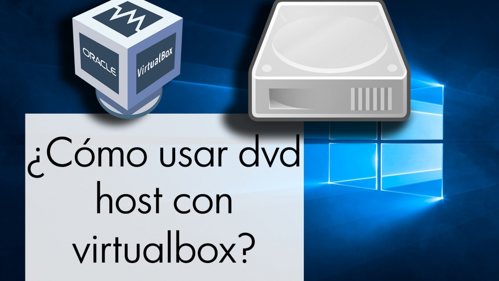 Como reproducir dvd unidad optica del host en virtualbox